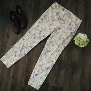 Old Navy Floral Pixie Jeans!